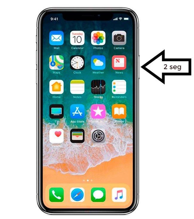 Siri en iPhone X