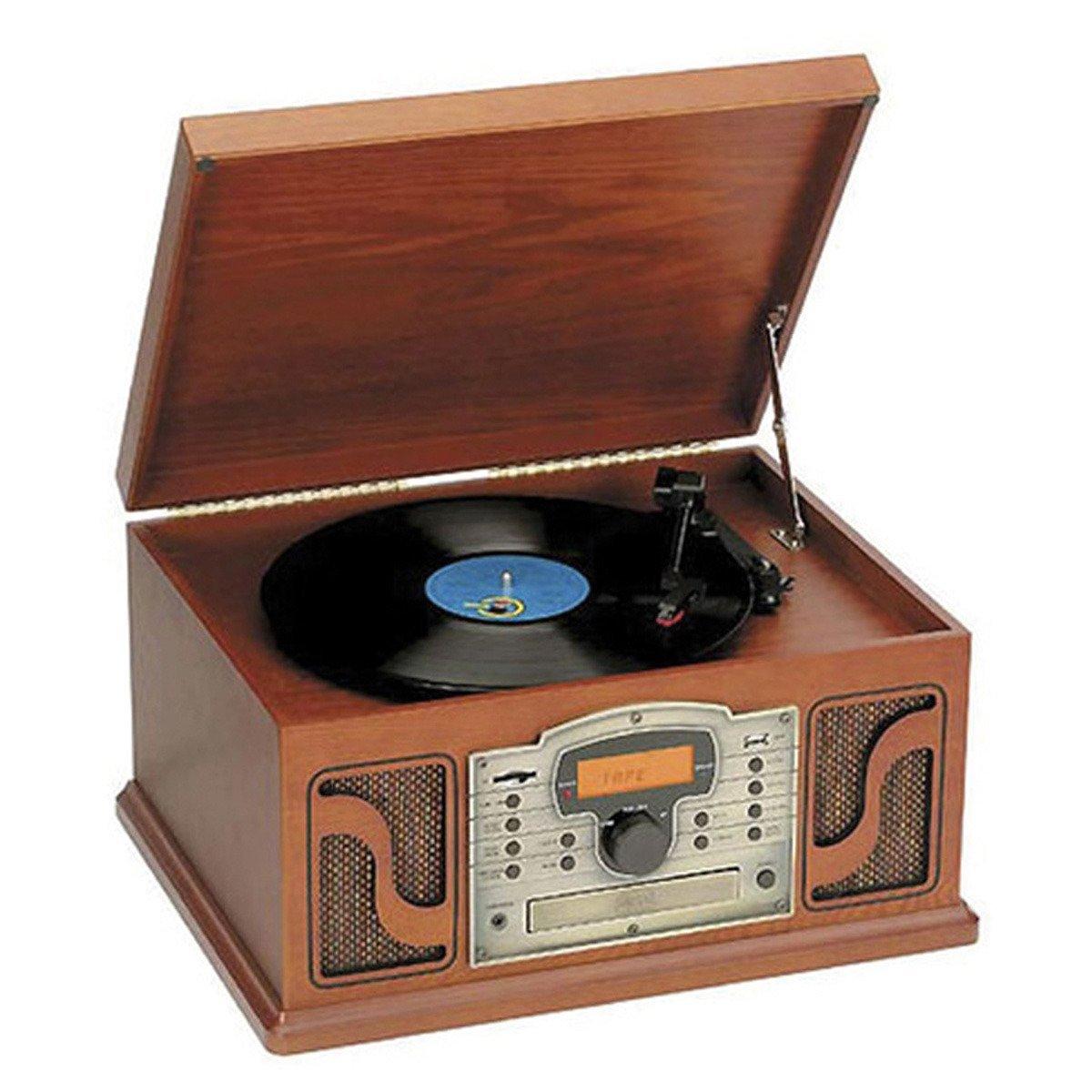 Radiocassette Lauson CL123 CD  MP3 con tocadiscos y USB
