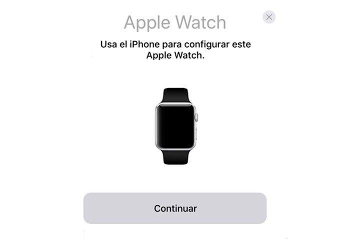 Como sincronizar el Apple Watch con quick Start