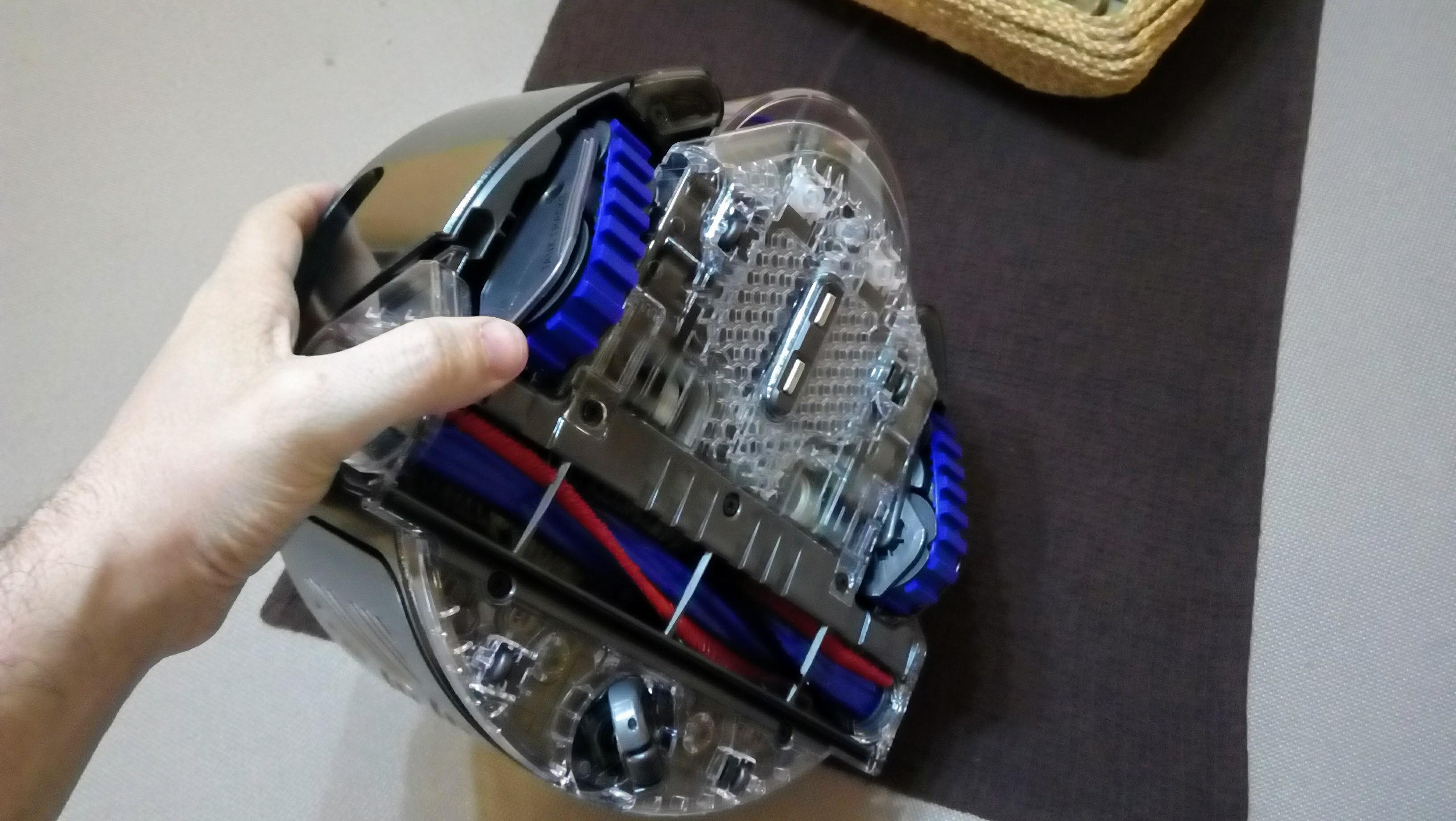dyson 360 eye robot aspiradora bajos