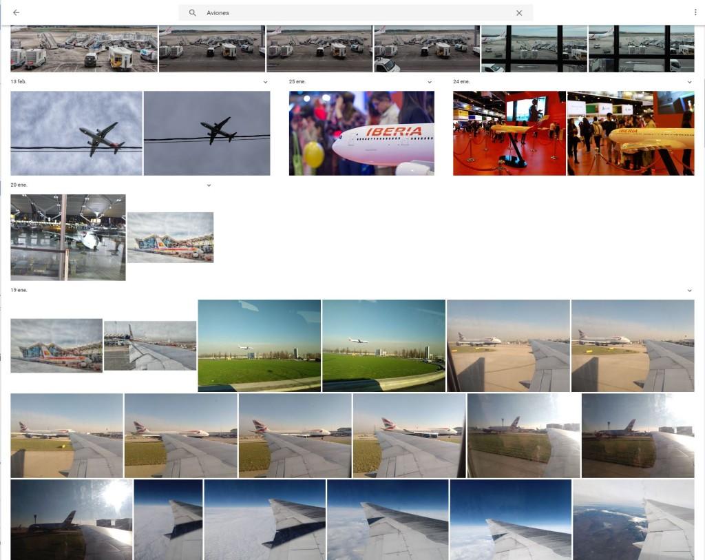 google fotos aviones