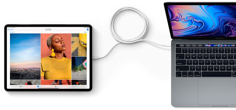 ipad-pro conexion USB-C