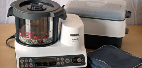 Hemos probado el robot de cocina de Kenwood: del unboxing hasta un sofrito básico