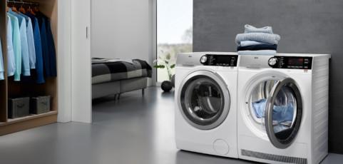 Así es la Serie 9000 de AEG: la única lavadora que mejora la calidad del agua para cuidar tu ropa