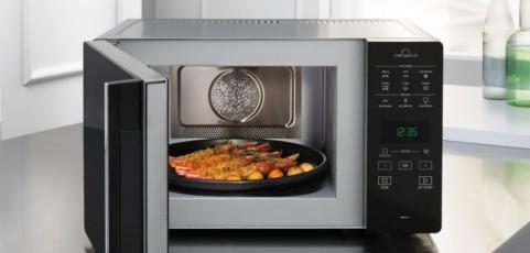 ¿Se puede freír realmente con un microondas?