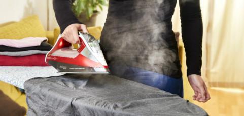 La revolución en el planchado llega con el vapor a baja temperatura
