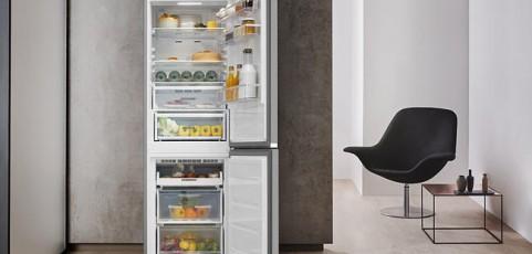 Accesorios para una distribución eficiente de los alimentos en el frigorífico