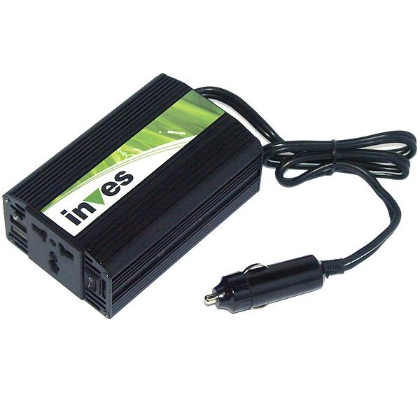 Un inversor para coche es de gran utilidad para cargar baterías en el coche.
