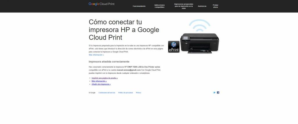 hp eprint cloud printer 2
