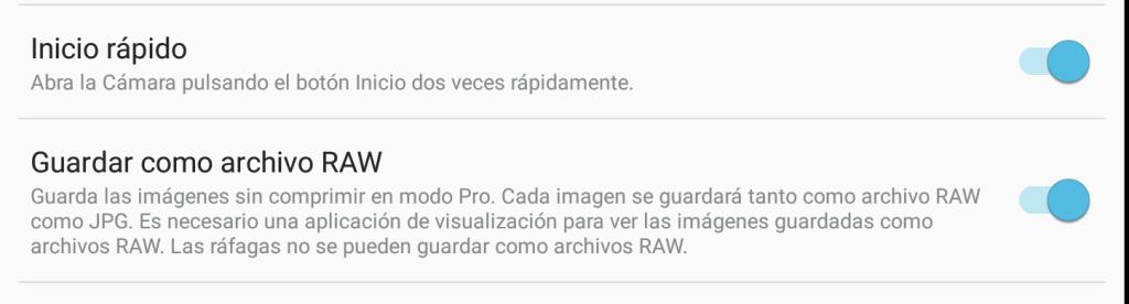 archivos raw
