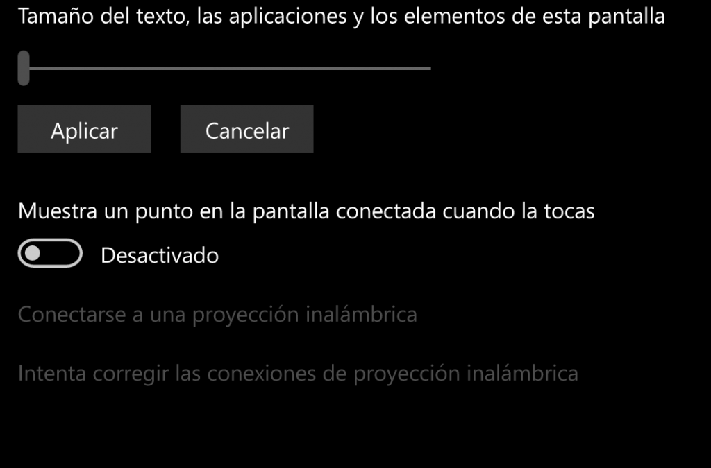 windows phone pantalla