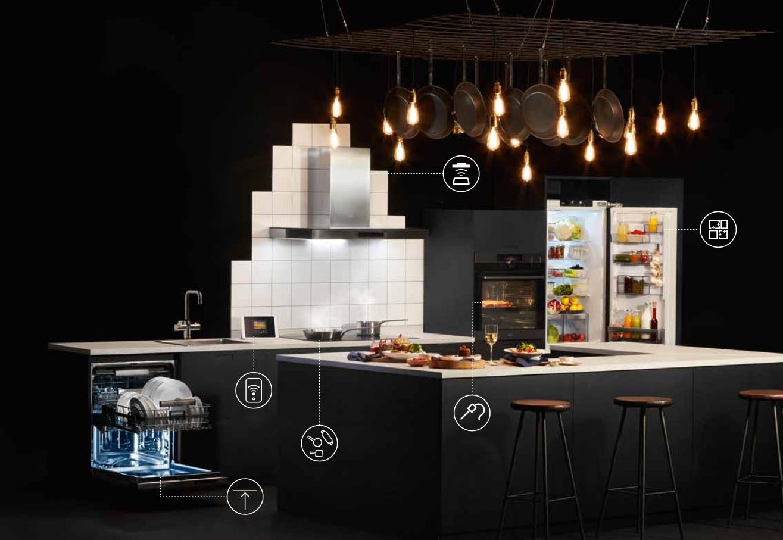 La colocación de los electrodomésticos en la cocina