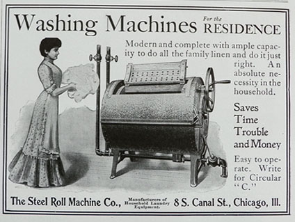 Lavadora publicidad 1905