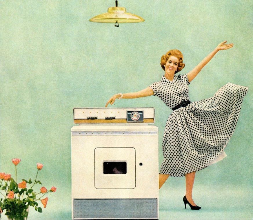 Publicidad de lavadora 1960