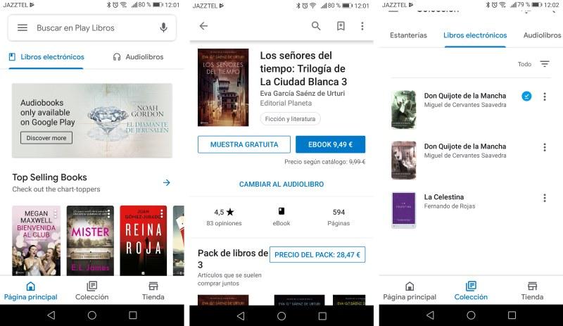 lector de ebooks offline google play libros