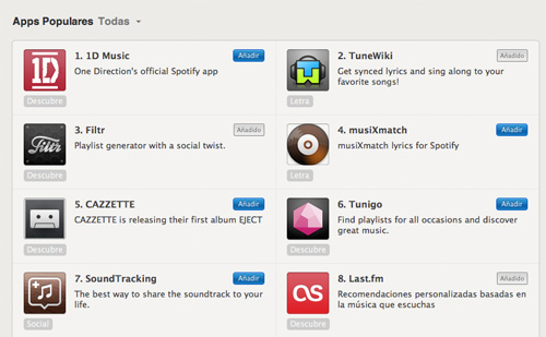 Apps Spotify