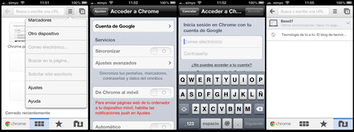 Google Chrome iOS