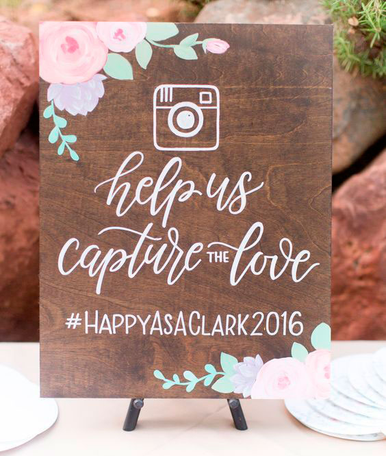 hashtag ideas para tu boda