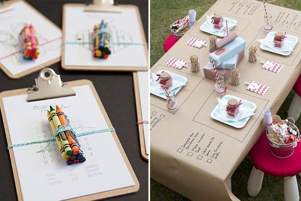 animación niños - ideas para tu boda