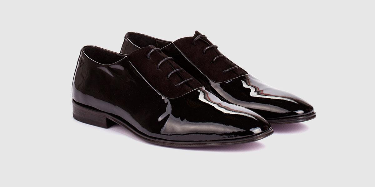 16ac93f6 Zapatos de vestir de hombre Martinelli de charol negro