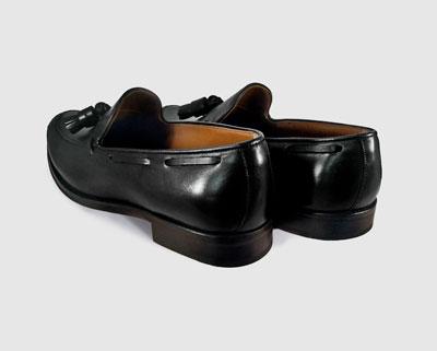 Zapatos de vestir de hombre Leyva de piel color negro 853b1b72a409