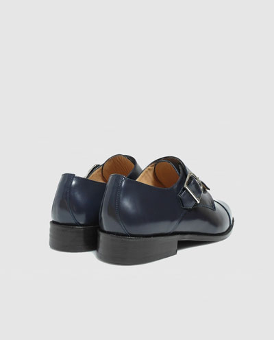 2d1da265 Zapatos de vestir de hombre Mr Mac Shoes de piel en azul marino