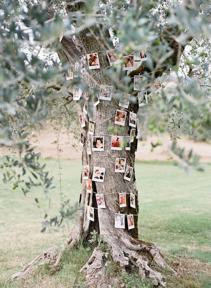 árbol para recordar en tu boda a los que no están