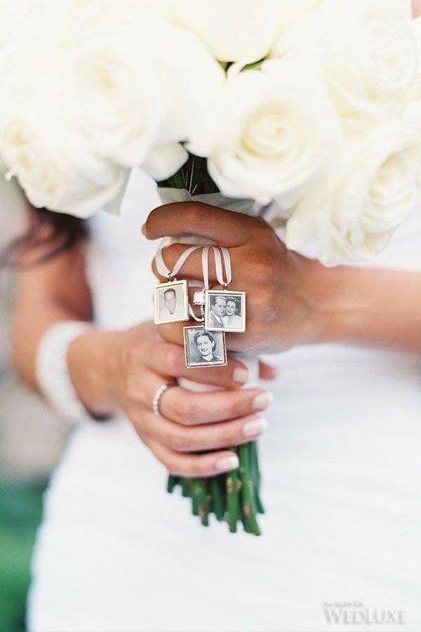 Fotos en el ramo de novia