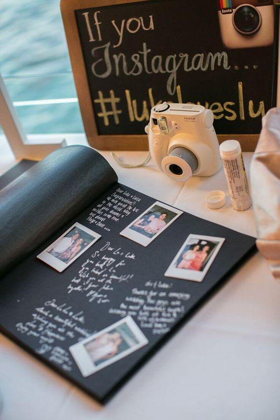Libro de firmas de boda