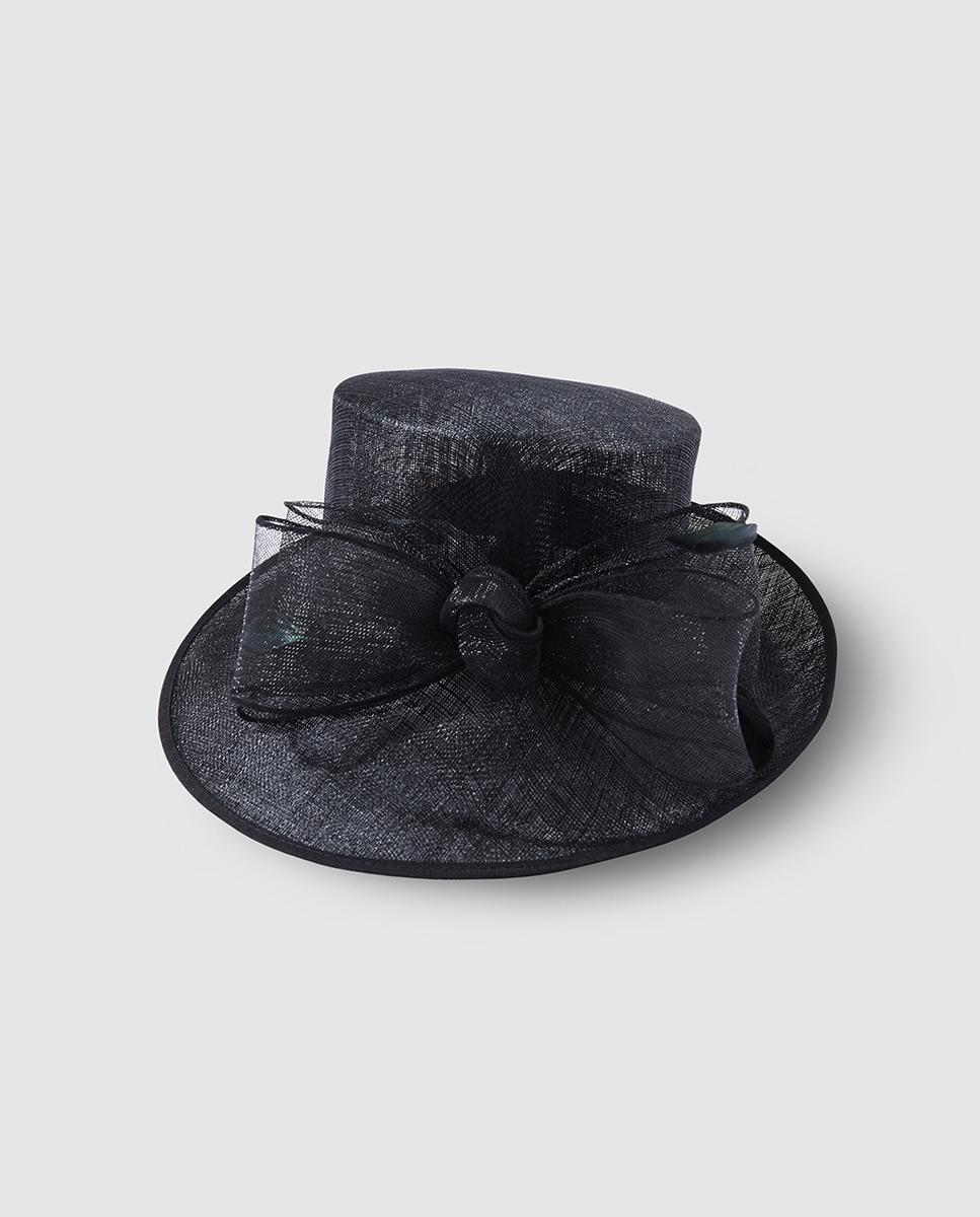 1330755016954 Pamela color negro con detalle de lazo El Corte Inglés