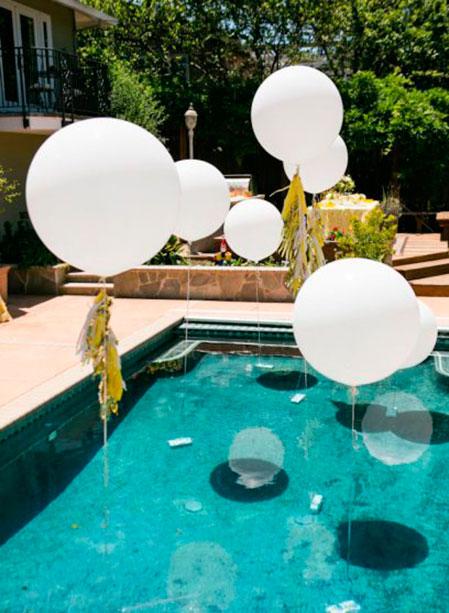 Decoraciones Para La Piscina De Tu Boda Bodamas - Decoraciones-de-piscinas