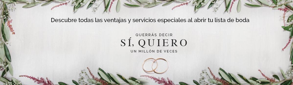 bodamás, servicio de bodas de el corte inglés - bodamás