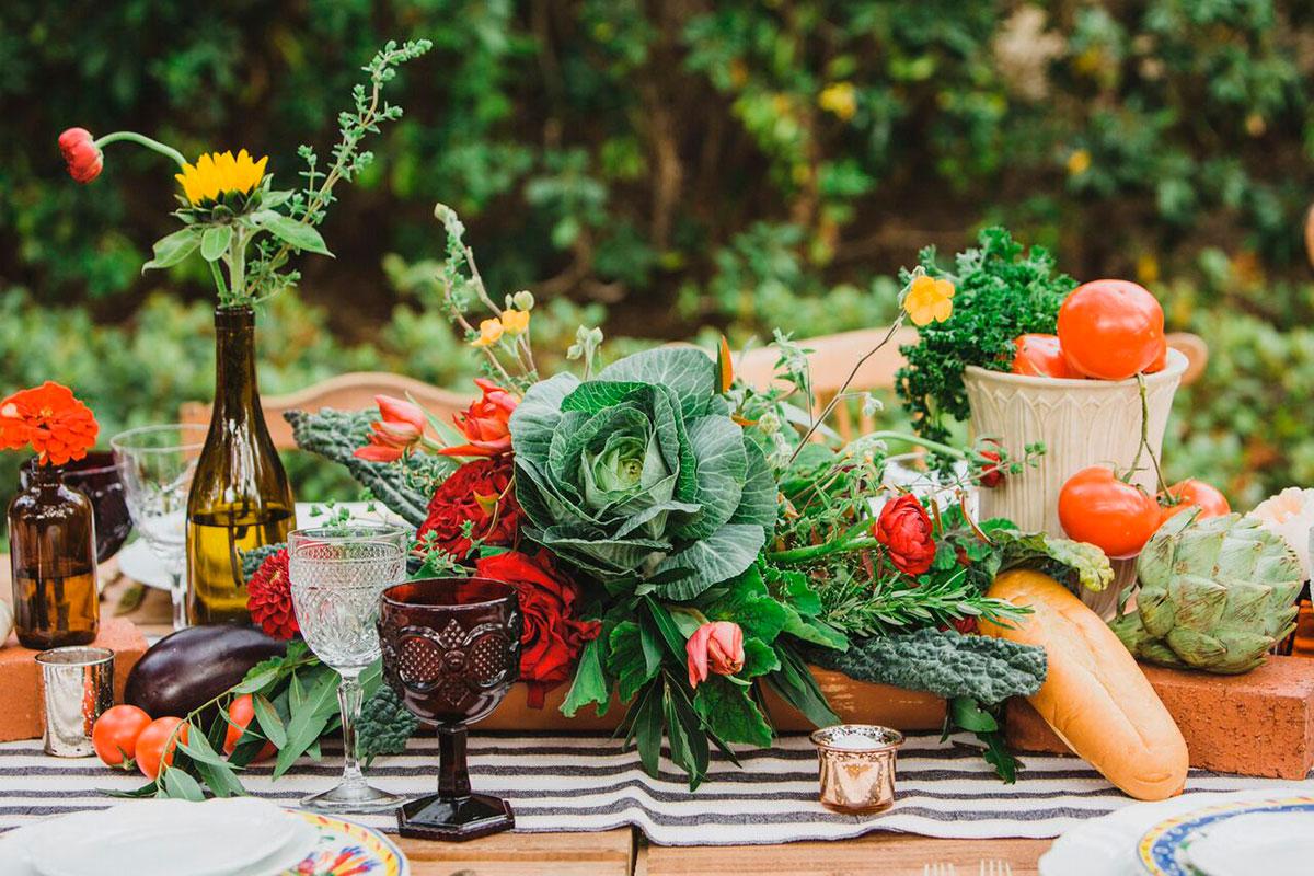 Centros De Mesa Con Frutas Para Tu Boda Bodamas - Centros-de-mesa-de-frutas