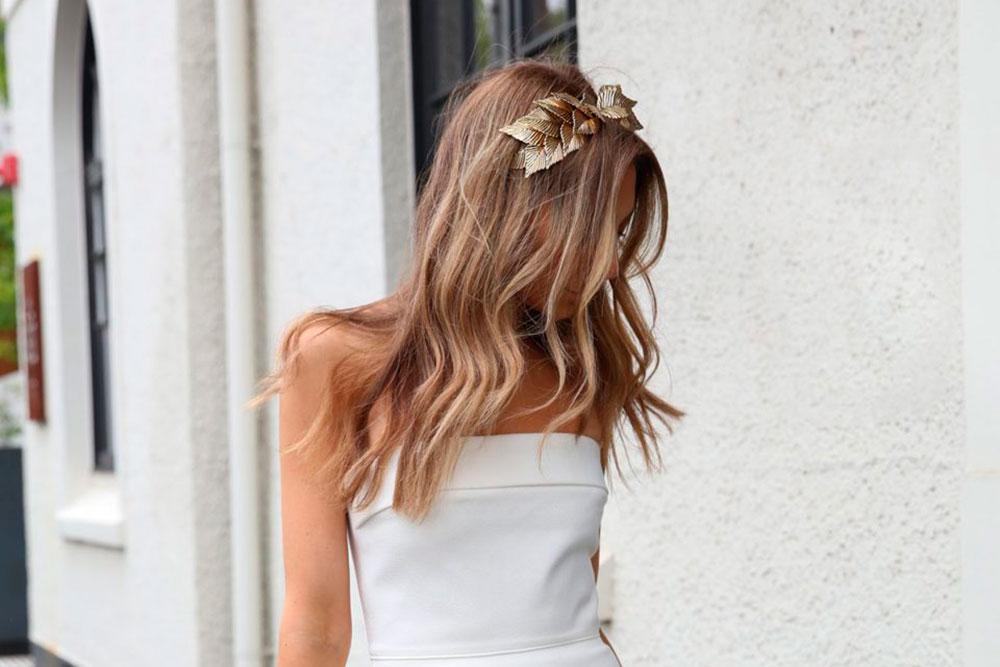Imagenes de peinados de novias pelo suelto