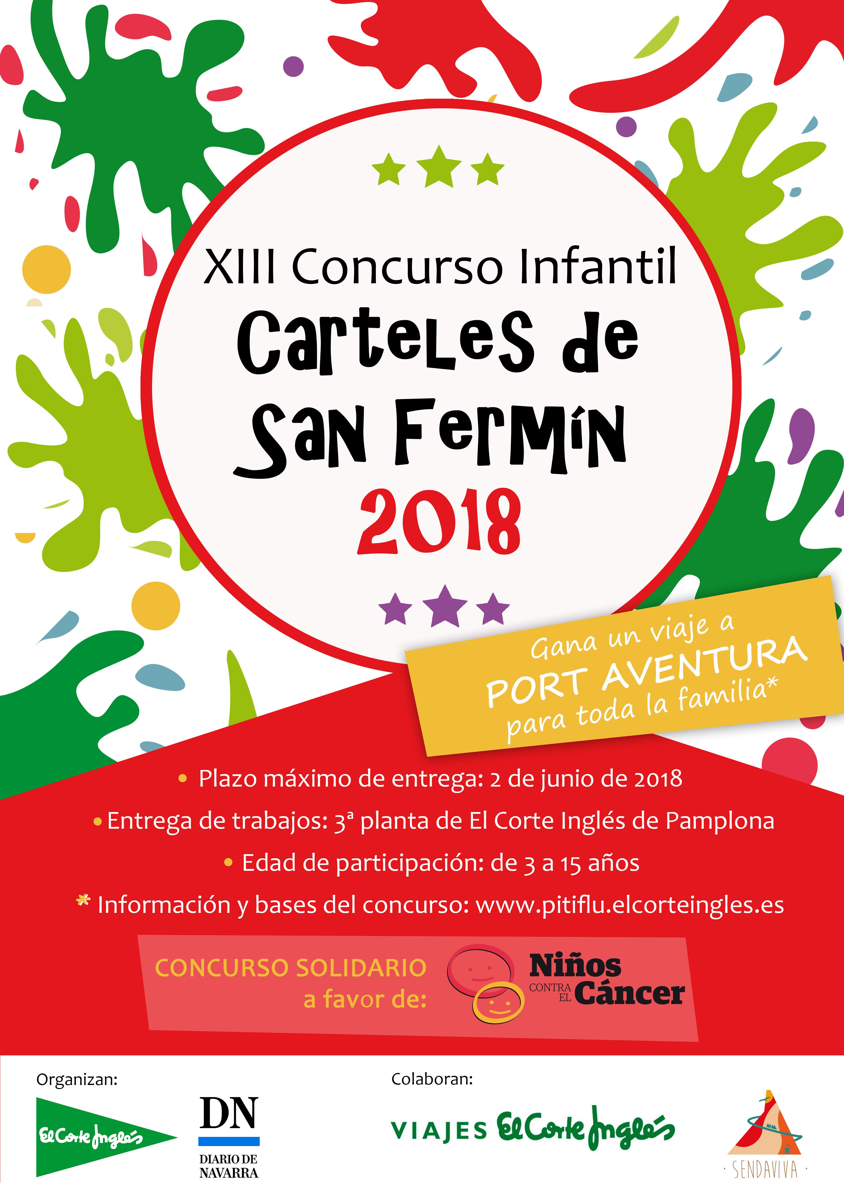 Xiii Concurso De Carteles Infantiles De San Fermín Pitiflú